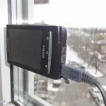 Моя камера на окне