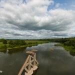 Мост через р.Пьяна. Кочкопожарки