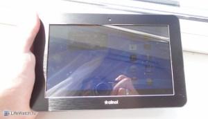 Экран на солнце