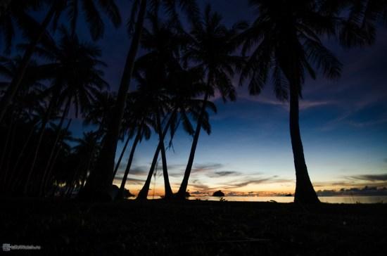 Nacpan beach после заката
