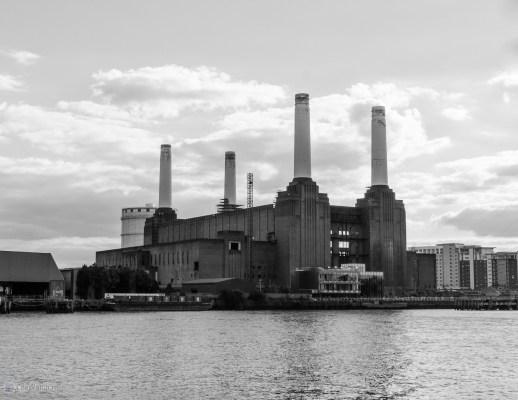 Battersea power starion!