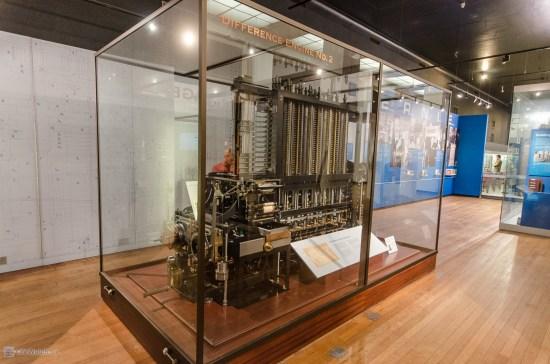 Разностная машина Бэббиджа. Музей науки