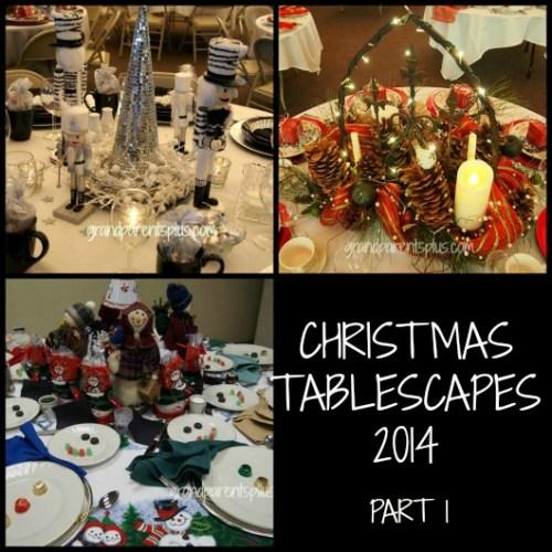 Christmas Tablescapes 2014 part 1 - Grandparents Plus