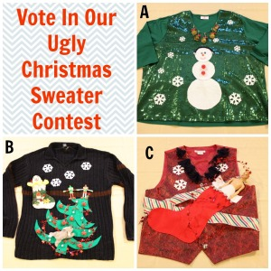 Ugly Christmas Sweater Collage 12.19.14 Bonnie