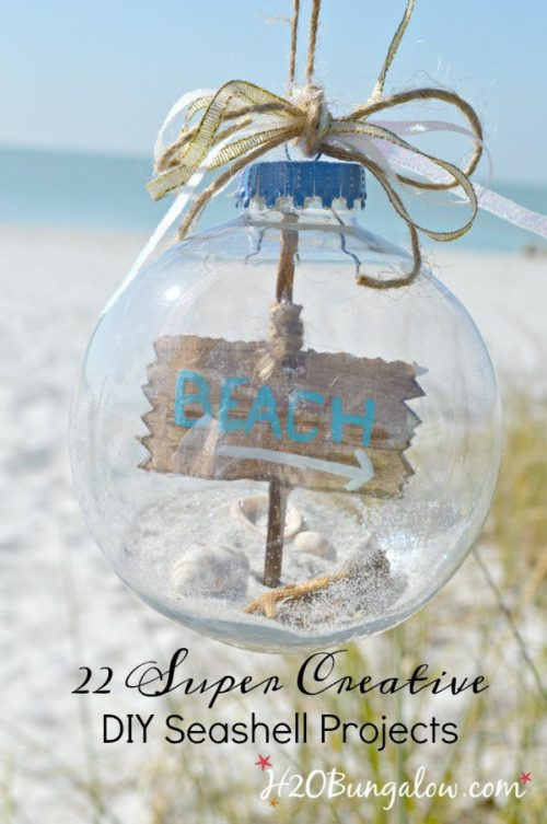 22 Creative DIY Seashell Projects You Can Make - H2O Bungalow - HMLP 99 - Feature