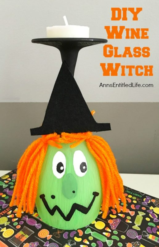 DIY Wine Glass Witch - Ann's Entitled Life - HMLP 105 - Feature