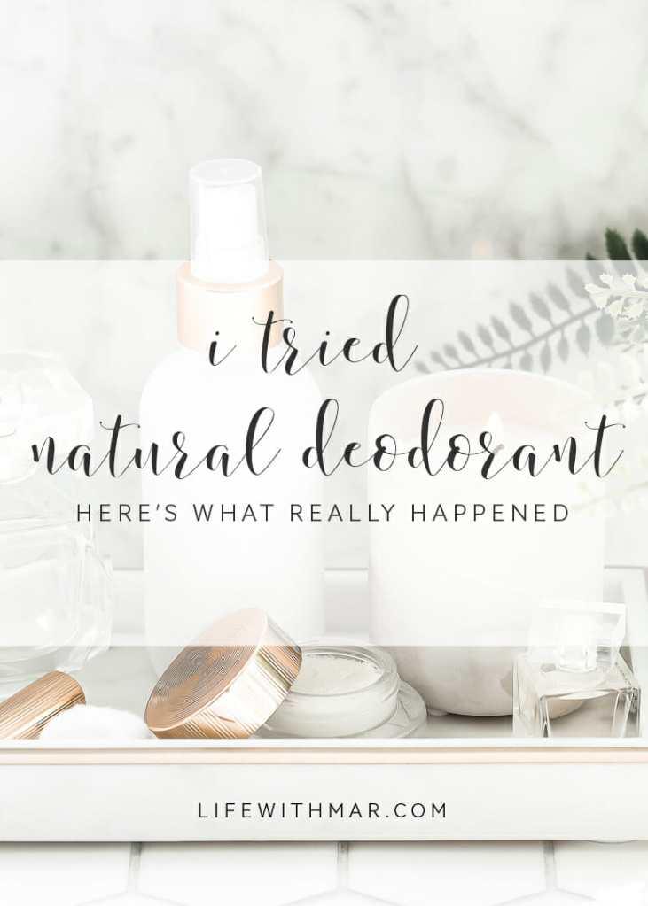 what you may not know about switching to natural deodorant