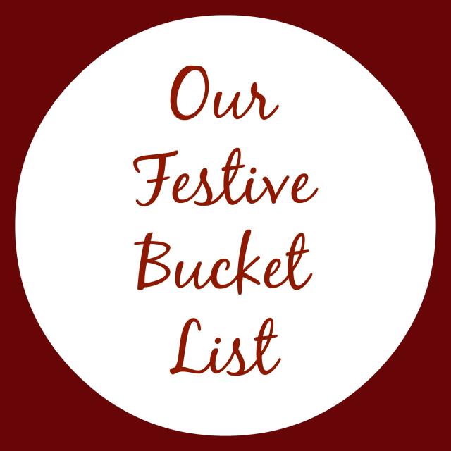 festive bucket list