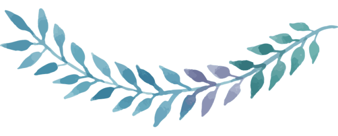 Painted Leaves Banner