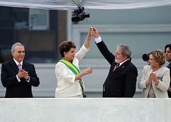 English: Vice President of Brazil Michel Temer...