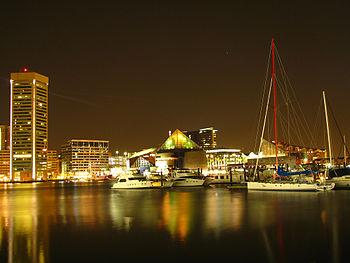 English: Baltimore Inner Harbor