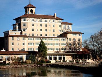 The Mediterranean Revival style Broadmoor Hote...
