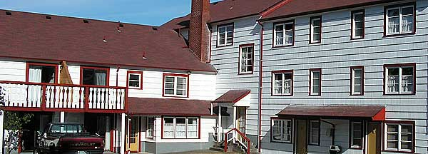 Lighthouse Inn Back