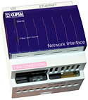 Square D Clipsal Ethernet Network Interface Unit Facilitates Remote Access to a Commercial Building's Lighting Control Network