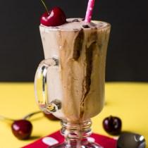 Spiced Chocolate Banana Frozen Kefir Slushie