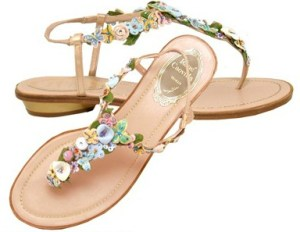RC flower shoes