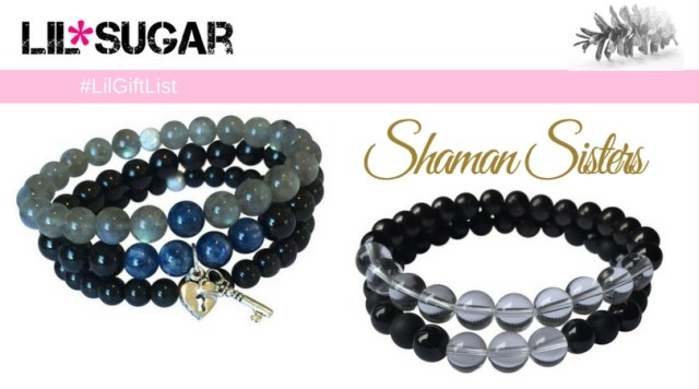 Shaman Sisters His/Hers Healing Bracelet Stack Giveaway! #LilGiftList