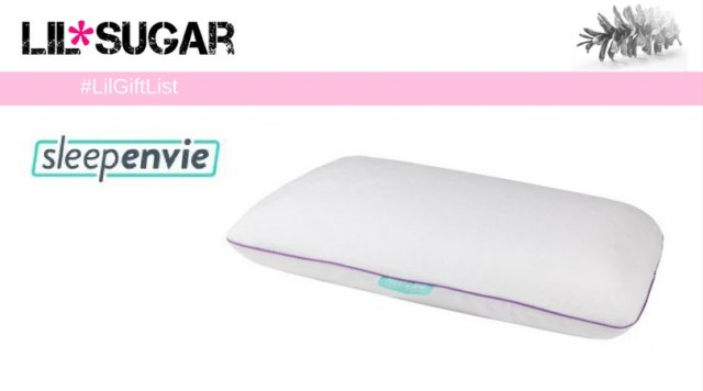 Silent Night – SleepEnvie Violet Pillow #LilGiftList