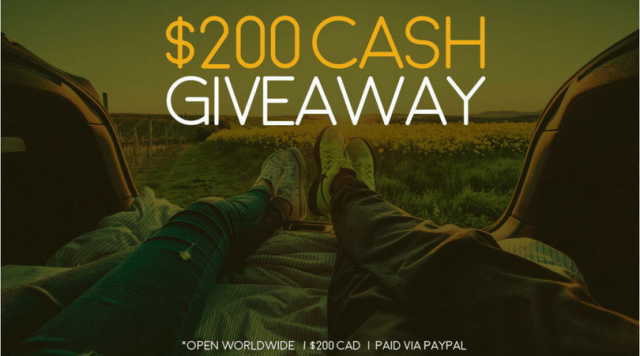 $200 CASH Giveaway! Just in Time For SPRING!