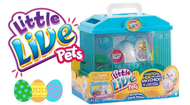 Little Live Pets Surprise Chick House Giveaway!