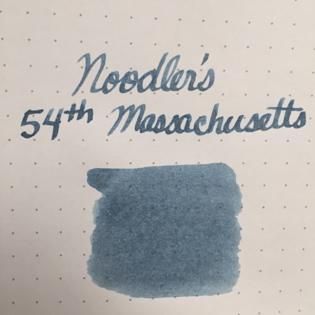 fountain pen, fountain pen inks, noodlers, noodlers 54th massachusetts, rhodia, dot grid, holiday, gift ideas
