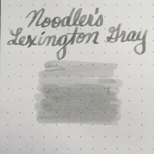 fountain pen, fountain pen inks, noodlers, noodlers lexington gray, noodlers lexington grey, rhodia, dot grid, holiday, gift ideas
