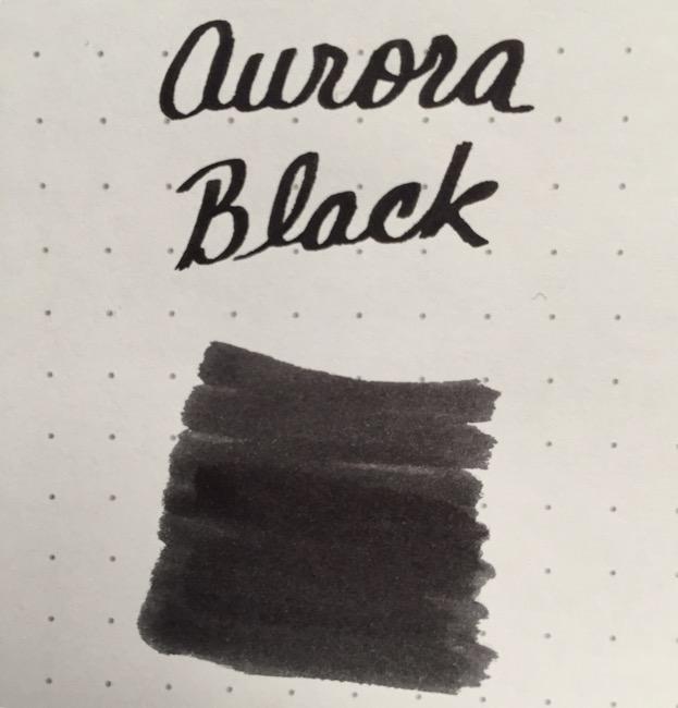 fountain pen, fountain pen inks, aurora, aurora black, rhodia, dot grid, holiday, gift ideas