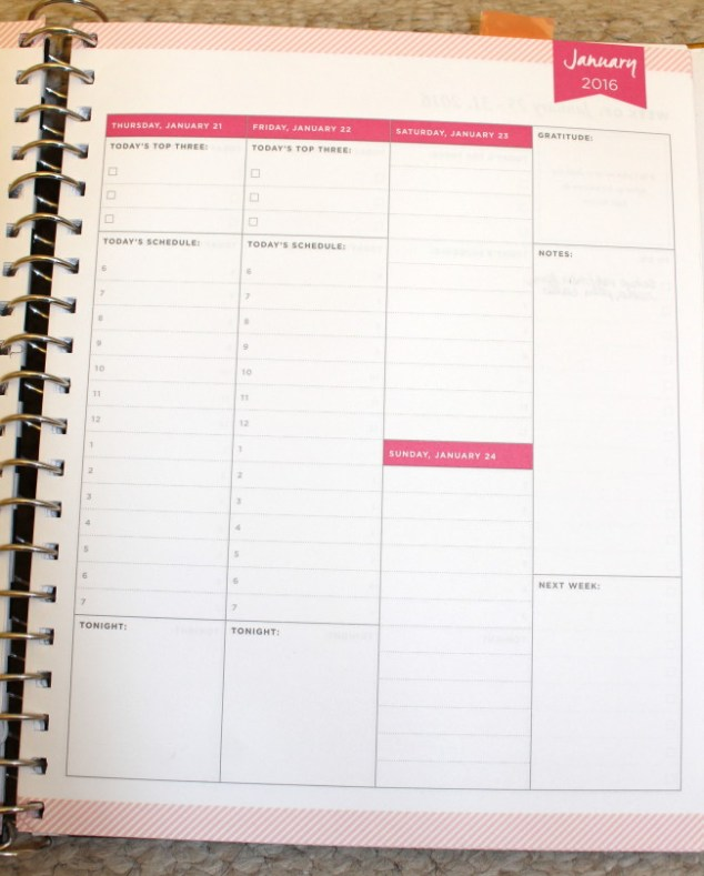 planner, day designer, week on two pages, planner setup