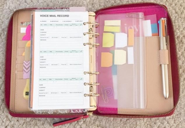planner, planner setup, kate spade, wellesly, gold coleto pen, post-its, coleto pen, paper