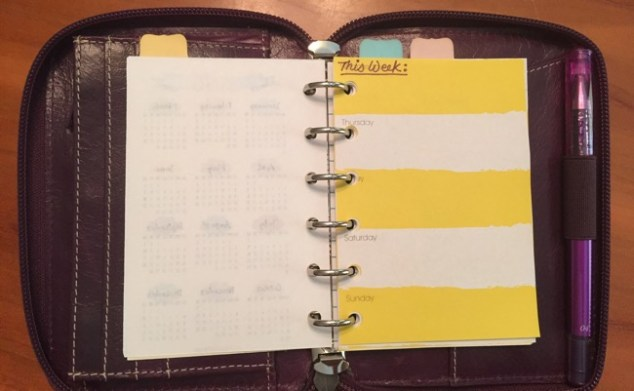 planners, organizers, Filofax, pocket size, malden, vacation planner, planner/wallet, target dollar spot notepads