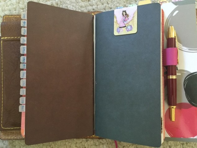 Planners, travelers notebook, bullet journal, one book July, Goulet Pens booklets, Tomoe River paper