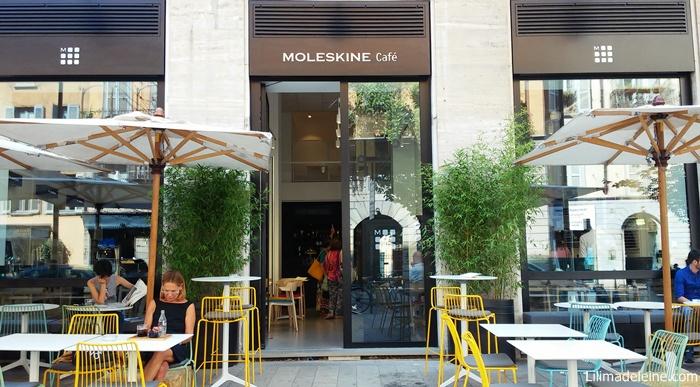 Aperto a Milano il primo Moleskine Cafè: bere un caffè tra i mitici taccuini