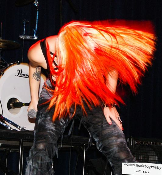 Lilith Astaroth Sorrowseed headbang hair porn