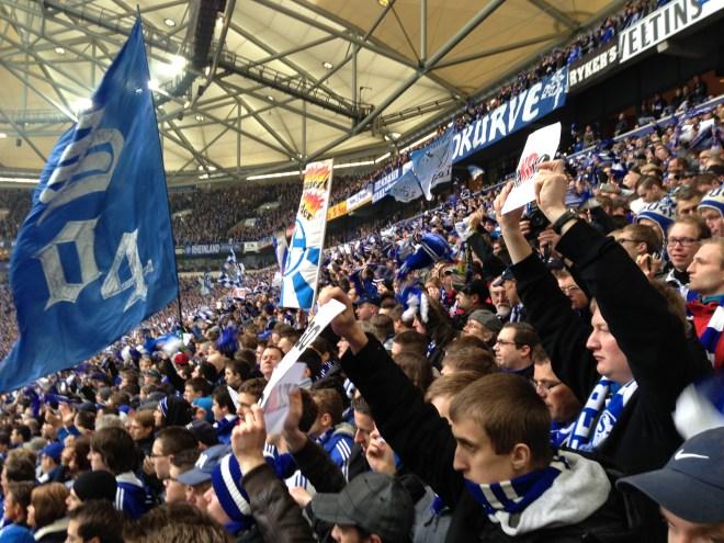 Nordkurve auf Schalke