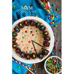 Small Crop Of Cookie Cake Recipe