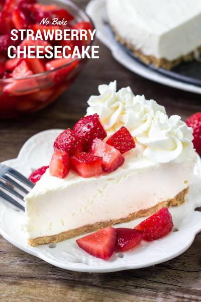 BEST No Bake Cheesecake recipe   Lil' Luna