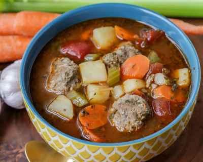 Grandma's Famous Albondigas Soup Recipe (+VIDEO) | Lil' Luna