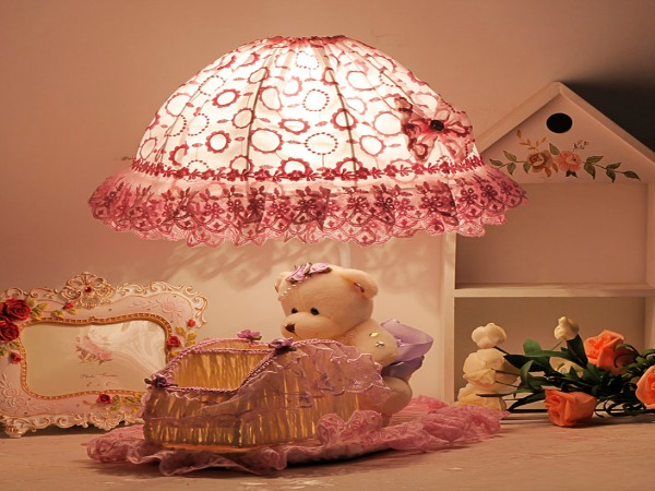 Fabric-table-font-b-lamp-b-font-rustic-child-princess-real-little-font-b-girl-b