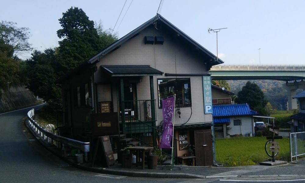 喫茶山の駅 県内5位モミの木