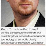 I support irradiating British schoolchildren