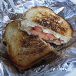 The worst best cheese sandwich in Davis Square