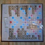 The half-life of a cafe scrabble set