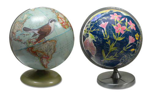 Spring Globes by Wendy Gold