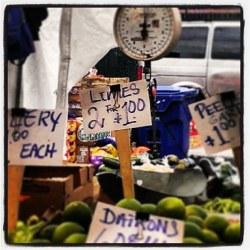 Haymarket limes, 2 for a buck
