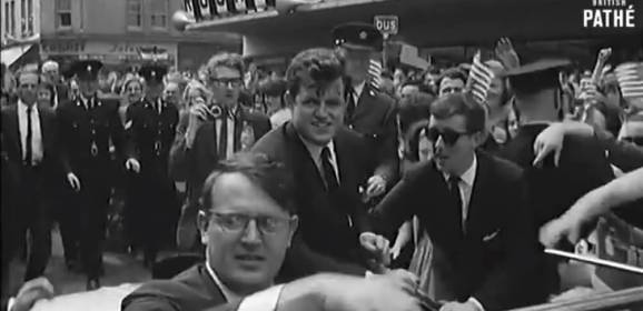 Ted Kennedy In Ireland (1964)