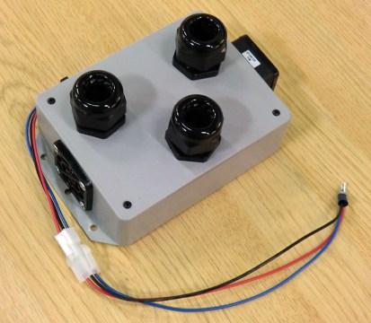 3 ports LED Färgväxlare