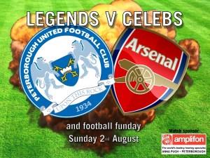 Arsenal v Posh facebook ad