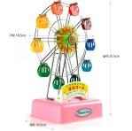 moderate medium sized ferris wheel