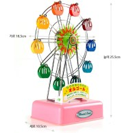 moderate medium sized ferris wheel