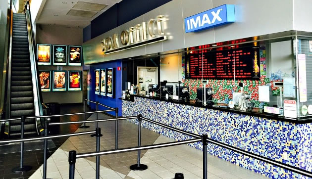 Catch a Movie at the Regal South Beach Stadium 18 on Lincoln Road Mall